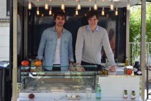 Arthur Gambard et Thibault Merendon les fondateurs de Mozza &Co