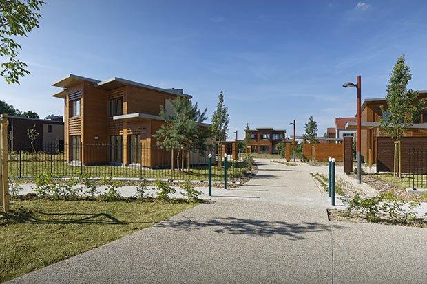 transition village espace boisé