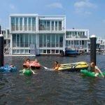Les maisons flottantes dans la ville d Ijburg a amsterdam