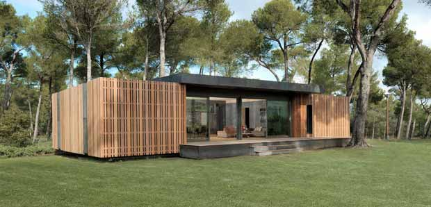La pop-up house est une maison passive en polystyrène.