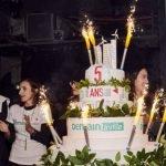 Un gâteau d'anniversaire pour fêter les 5 ans du blog
