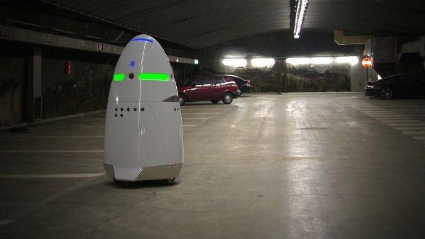 Rosie, le robot de sécurité autonome.