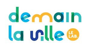 logo de demain la ville, le lab
