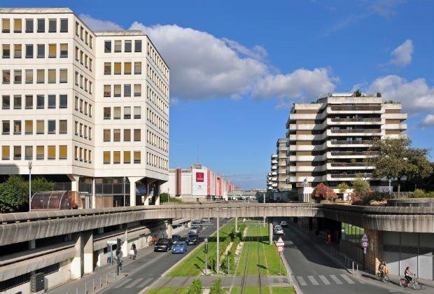 Le quartier Meriadeck à Bordeaux
