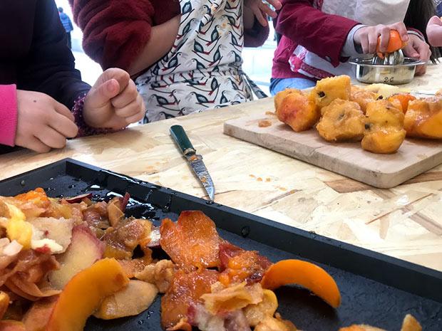 photographie lors d un atelier bellebouffe contre le gaspi alimentaire