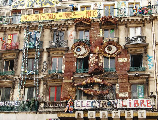 Squat artistique du 59 rue de Rivoli à Paris