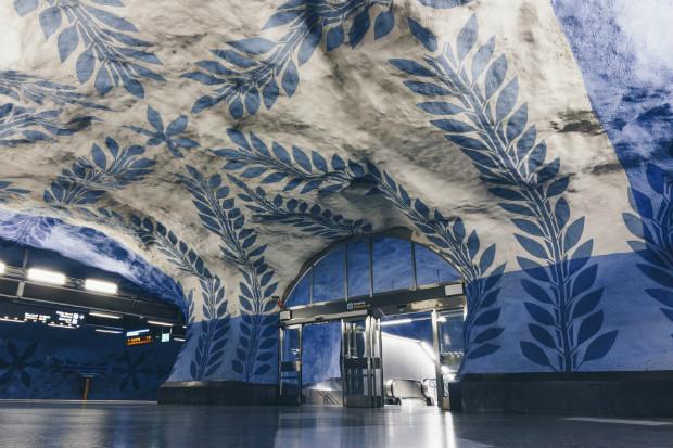 Gare T-Centralen, Stockholm, Suède