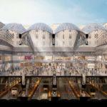 Projection architecturale du projet de Penn Station
