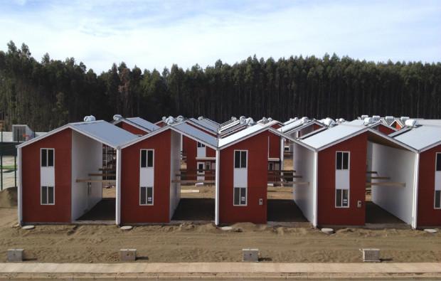 Les demi-maisons dans leur plus simple appareil - Elemental