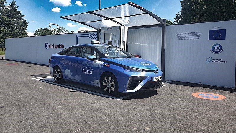 Les taxis Hype sont les premiers taxis fonctionnant à l'hydrogène au monde - Wikipédia