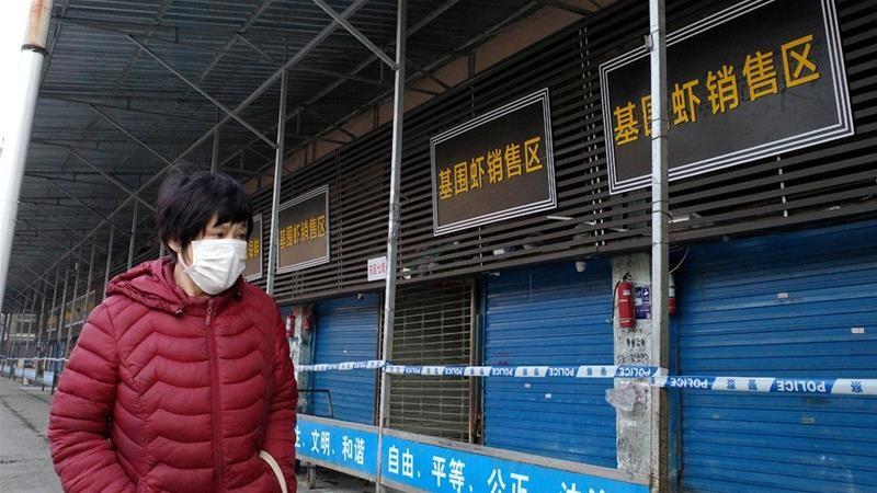 À Wuhan, le marché aux fruits de mer où serait né le coronavirus est fermé - Systema 12/Wikipédia