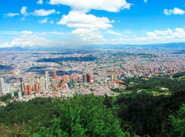 Point de vue de Monserrate sur Bogotá ©️ Claus Pacheco via Unsplash