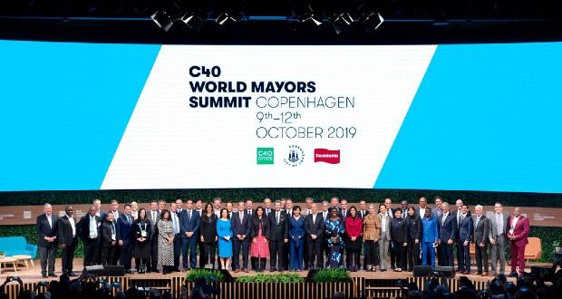 Sommet du C40 à Copenhague en octobre dernier - Next Generation City Action